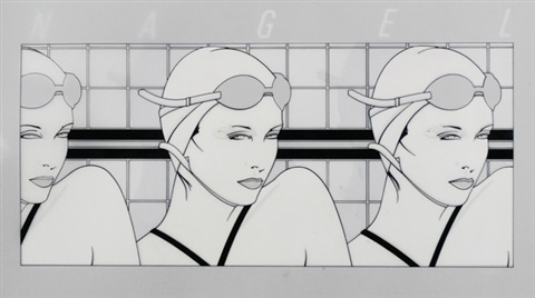swimmers by patrick nagel