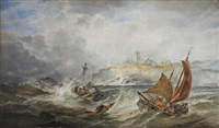 battling the stormy weather by henry james holding