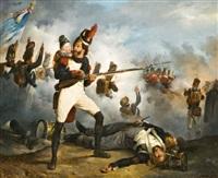 jelenet a napoleoni háborúból i. by franz adam