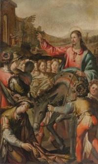 christ's entry into jerusalem by andrea boscoli