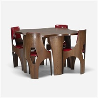 cylindra dining set (set of 5) by henry p. glass