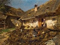 niederösterreichischer bauernhof by olga wisinger-florian