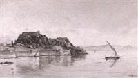 corfu fort by j. w. marchetti
