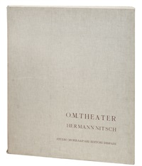 o. m. theater (portfolio of 11)(+ 1 other; 12 works) by hermann nitsch