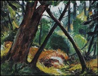 forest scene by arthur lismer
