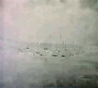 glen cove sailing boats by george gach
