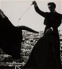 tauromachie (bullfighter), 1955 by lucien clergue