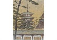horyuji temple by tadashi moriya