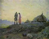 nuit blanche en siberie by yuri frolov
