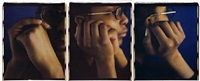 monique ii (triptych) by dawoud bey