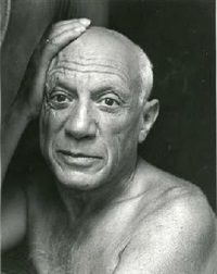picasso, cannes by jacques henri lartigue