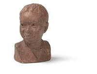 bust of a young boy by augusta savage