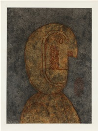 profile of a man by rufino tamayo