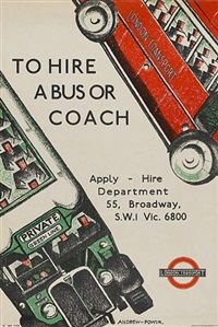 to hire a bus or coach by cyril power and sybil andrews
