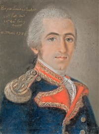 portrait d'un officier de marine by louis nachet