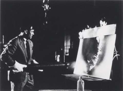 yves klein february by harry shunk