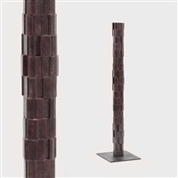 the column of memories (study for the holocaust monument) by peter jacobi
