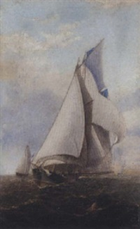 approaching the turning mark by charles keith miller