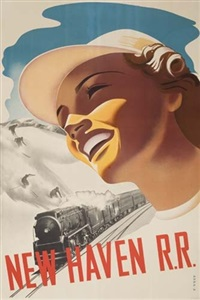 new haven r.r. by posters: sports - skiing