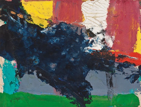 over green by franz kline