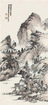溪山独钓 by xiao junxian