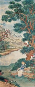 西洋仕女 (figure) by bai zongwei