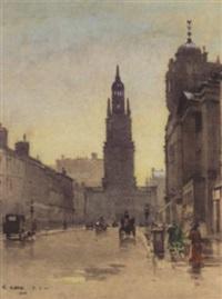 evening, west george street by robert eadie