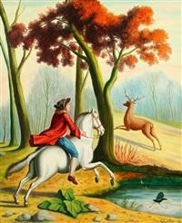 le cavalier et le cerf by andré quellier
