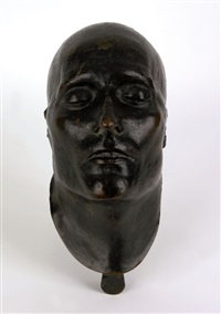 death mask of napoleon bonaparte by françois (dr.) antommarchi