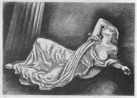 isadora reclining by maxwell stewart simpson