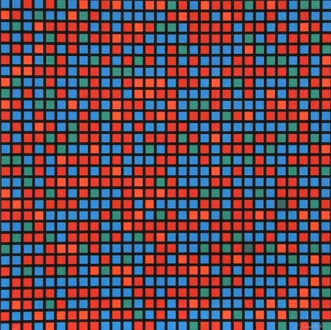 untitled from 9x5 konkret portfolio by françois morellet