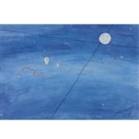céu com balões by candido portinari