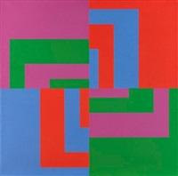 diagonal reversierte farbpaare (diagonaler austausch) by carlo vivarelli