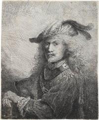 portrait of an officer (self portrait) by ferdinand bol