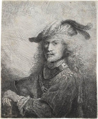 portrait of an officer self portrait by ferdinand bol
