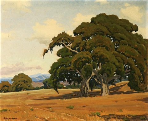 the oaks of monte regio by arthur hill gilbert