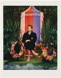 at magazine ads by jeff koons