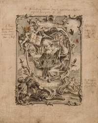 der heilige augustinus by vitus felix rigl