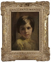 portrait of a child by alice mary burton