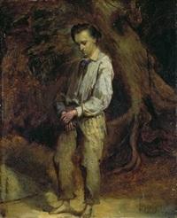 portrait eines jungen mannes by adolphe stache
