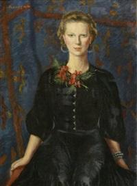 portrait de femme by helene adoryan