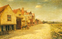 a view of watford high street by harry george webb