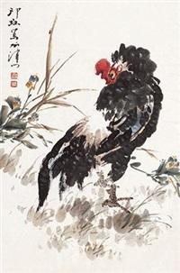 雄鸡图 by xiao lang