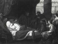 antiochus, seleukos und stratonike by carl amon