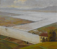 the yolo weir and by-pass of the sacramento river by howard john little