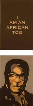 i am an african too (diptych) by bruce murray arnott
