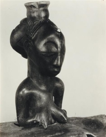 statue africaine by walker evans