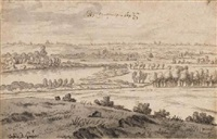 a view near maastricht by josua de grave