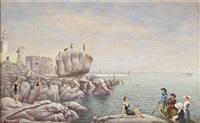 le phare de menez-grooz by pierre arcambot