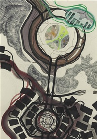 untitled (pacific no. 22: mr. pigman you are nothing) by franz ackermann